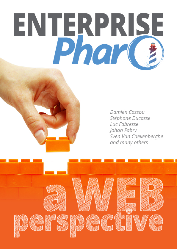 The cover of the Enterprise Pharo book.